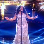 The fabulous Amber Riley Royal Variety Performance 2016