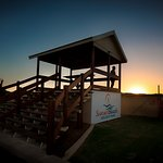 Enjoy the amazing sunsets from our viewing platform.