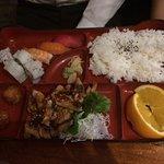 寿司チキン照り焼き ランチ