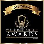 ワールドラクジュアリーホテルアワード 2016 ハネームーン部門受賞