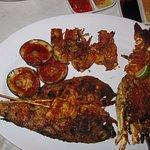 Club Seafood Jimbaran Beach Cafe Foto