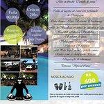 3X sem juros Informações e reservas: (75) 3652-1484  restaurante@sambasscafe.com.br