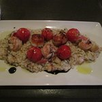 Riva - my shrimp and scallop orzo