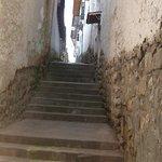 Calle Alabado por la calle Chihuampata.