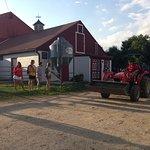 Tractor-drawn hayrides.
