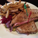 Sir John's Public House - my Reuben sandwich with fries