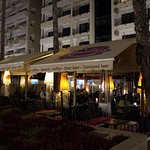 Nice place, situated at Phinikoudes seaside avenue (Palm avenue). Well known for it's beers
