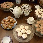 A delicious array of some of our tasty treats for afternoon tea.