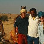 With our brilliant guide Prakas