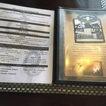 Elmwood Inn - menus