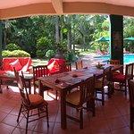 Breakfast/Pool/Garden