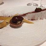 tartelette au chocolat et ses panés confits