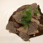 lièvre façon à la royale et truffes de Bourgogne