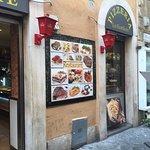 Outside Pizzeria La Fiorfiore