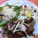 Gyro lunch Platter