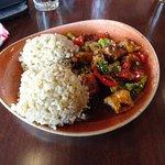 Sesame chicken lunch portion