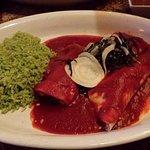enchiladas salsa roja