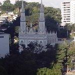 La iglesia del Carmen, a solo unas cuadras