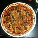 glutenfreie Pizza Funghi...so lecker wie sie aussieht, war sie auch