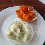 Aioli mit Karotten