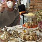 Lovely afternoon tea with my wonderful husband