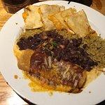 Enchilada & quesadilla was delicious
