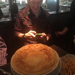 huge turkey pot pie