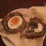 Also probably the best Scotch egg I have ever had!!