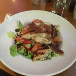 Chicken and bacon salad