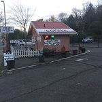 Road side coffee hut