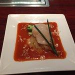 新鮮干貝及海蜇絲
