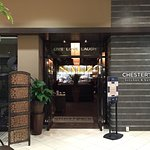 The entrance to Chesters is inside the University Square Mall.