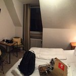 My hotel/room during my short trip in Munich.