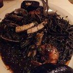 Black Ink Seafood Linguine