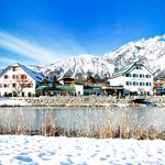 Das Alpenresort Schwarz im Winter