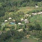 A bird's eye  view of  Villa Semana, Ubud -Bali