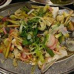 steam fish thai style...