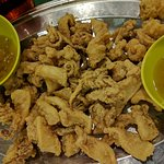 fried sotong...