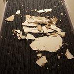Plafond qui s'effondre