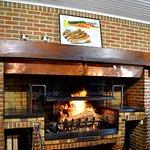 Notre cheminée au feu de bois