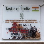 Foto de Taste of India