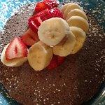 Organic Blue Corn Cakes (Vegan) - Excellent Breakfast