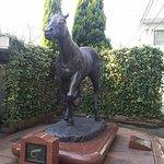 Oguri Cap Statue