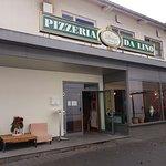Die Pizzeria Da Lino von außen