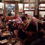 The pub during the Irish music session