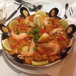 Mixed Paella for two people