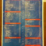 one side of the menu