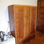 bedroom mini kitchen area