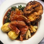 Rib of Sirlion, our Sunday roast!!!!