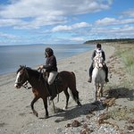 Ride back along the beach, a beautiful day in Punta Arenas!